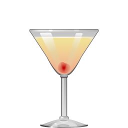 An Apple a Day cocktail with gin and apple liqueur