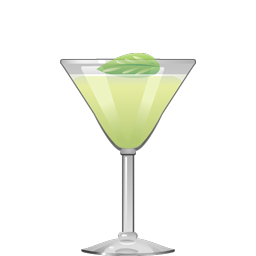 Basil Gimlet gin cocktail