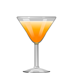 Bitter Darling cocktail with rye whiskey, ginger liqueur, and orange juice