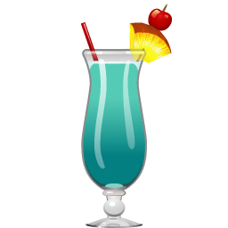 Blue Hawaii Cocktail Party