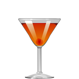Deadly Sin cocktail with bourbon and maraschino