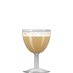 Death Flip cocktail with tequila, yellow Chartreuse, Jägermeister, simple syrup, egg, and nutmeg