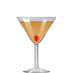 Elegant Without Number cocktail with vodka and calvados