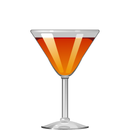 Fancy Free cocktail with bourbon and maraschino
