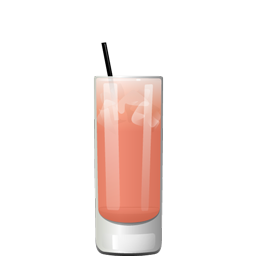 Frosé Y'all cocktail with rosé wine and simple syrup