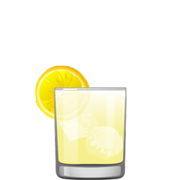 Goldmine cocktail with vodka, Cocchi Americano, pineapple juice and lemon juice