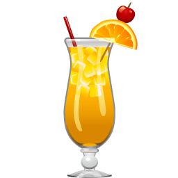 Harvey Wallbanger cocktail with Galliano and orange juice