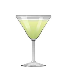 Last Word cocktail with maraschino and green Chartreuse