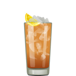 Long Island Iced Tea with vodka and gin