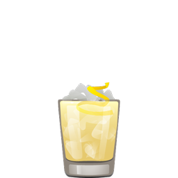 Mariner cocktail with scotch, cardamom syrup, pineapple juice, and lemon juice