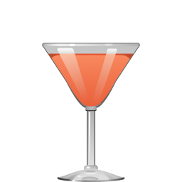 Mary Pickford cocktail with rum and grenadine