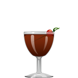 Nutcracker cocktail with rye, Averna, sweet vermouth, crème de cacao, and walnut bitters