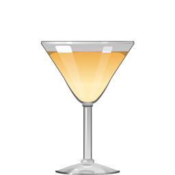 Orchard Keeper cocktail with Calvados, blanc vermouth and honey syrup