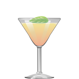 Pamplemousse cocktail with gin and grapefruit juice