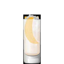 Sake Spritz cocktail with rosé wine, elderflower liqueur, simple syrup, grapfruit bitters, and sparkling sake