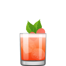Sandia cocktail with blanco tequila, Aperol, watermelon juice, lemon juice, and ginger syrup