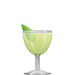 Sweet Basil cocktail recipe with fresh basil, Lillet Blanc, gin and lime juice