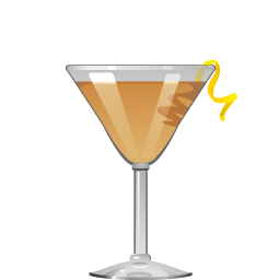 Tremblement de Terre absinthe and cognac cocktail