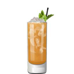 Twenty Seventy (2070) Swizzle rum cocktail recipe
