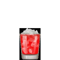 Woo Woo vodka and peach liqueur cocktail