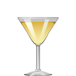 Yellow Daisy cocktail with gin, dry vermouth, and Grand Marnier